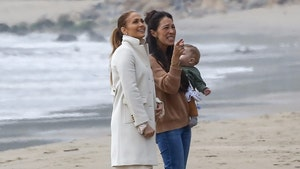 Jennifer Lopez and 'Fixer Upper' Star Joanna Gaines Get to Work in Malibu