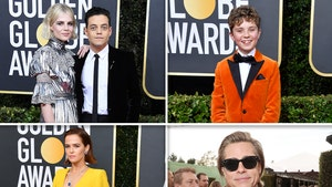 Golden Globes 2020 Seems to Have All Black or Bright Colors Dress Code