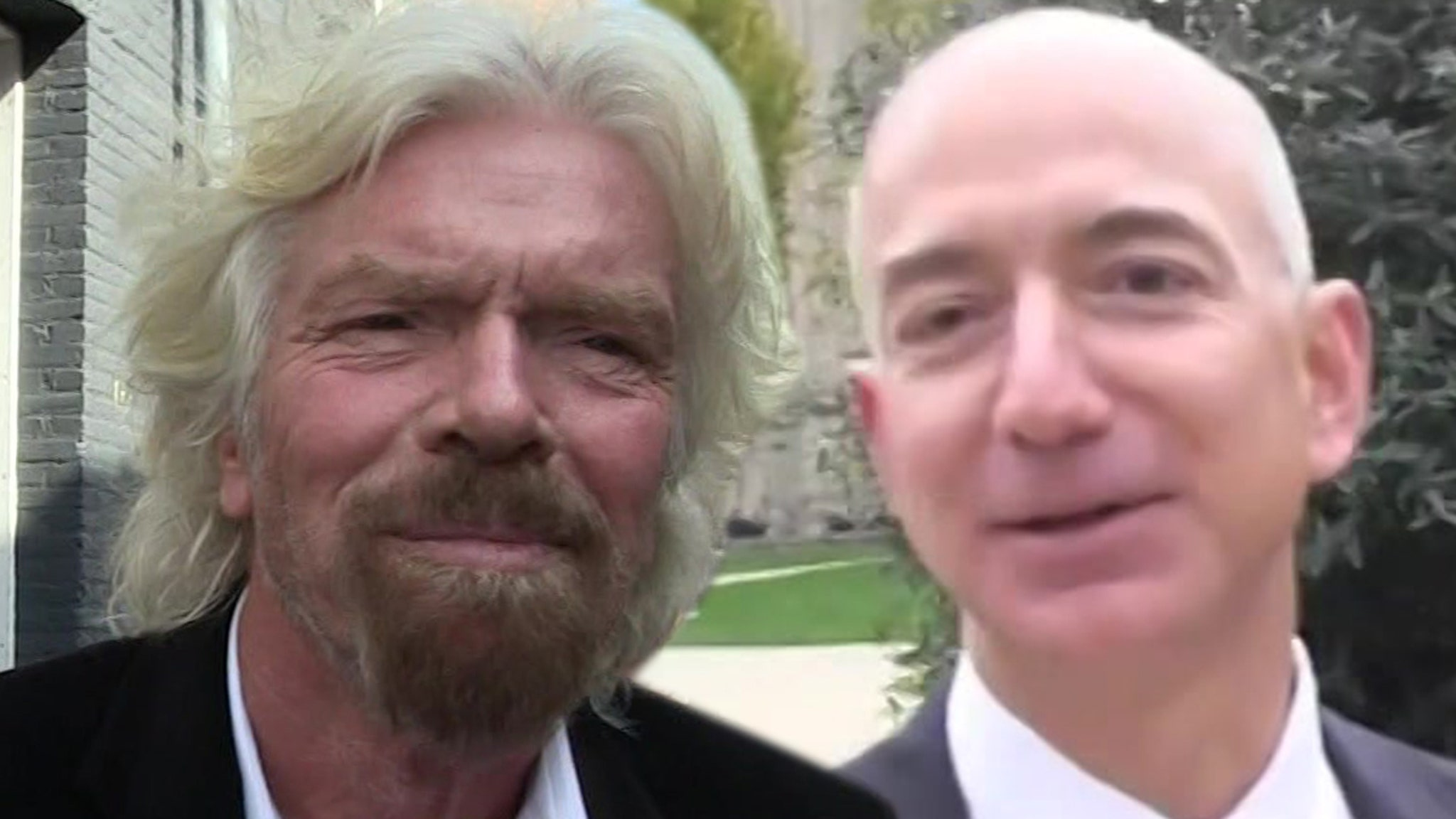 Richard Branson is out to prove he's the billionaire king of space travel, working with his team to beat Amazon's Jeff Bezos in busting out of Earth's atmosphere ... according to a new report.