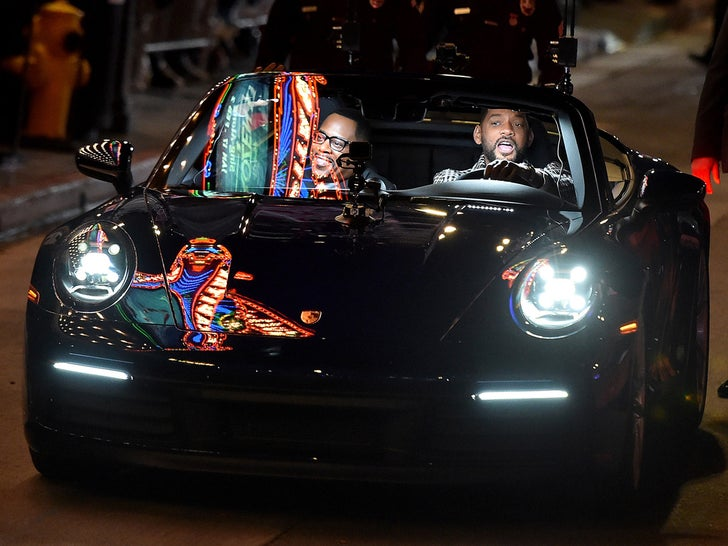Will Smith, Martin Lawrence Arrive in Style for 'Bad Boys' Premiere