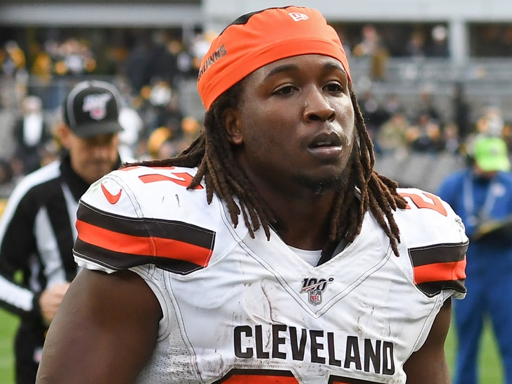 Police find marijuana in Kareem Hunt's vehicle during traffic stop