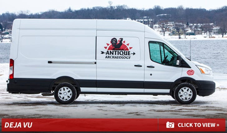 American Pickers Mike Frank and Danielle New Van