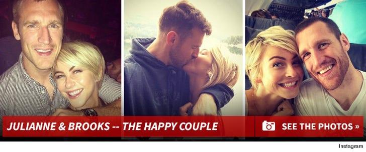 Julianne Hough & Brooks Laich -- The Happy Couple