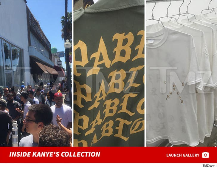 Kanye West Pop Up -- Inside Kanye's Collection
