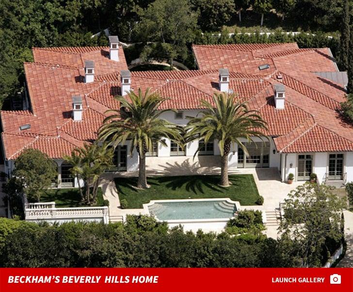 David Beckham's Beverly Hills Home