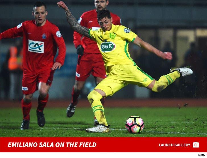 Emiliano Sala On The Field
