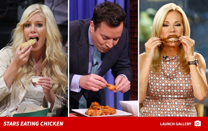 Stars Eating Chicken