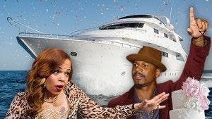 Faith Evans & Stevie J Eyeing $40 Million Yacht for Wedding Venue