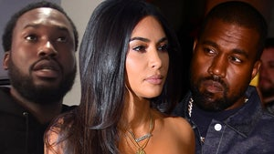Meek Mill Responds to Kanye's Suggestion Kim Cheated With Him, Calls BS