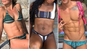Team USA Olympic Abs -- Guess Who!