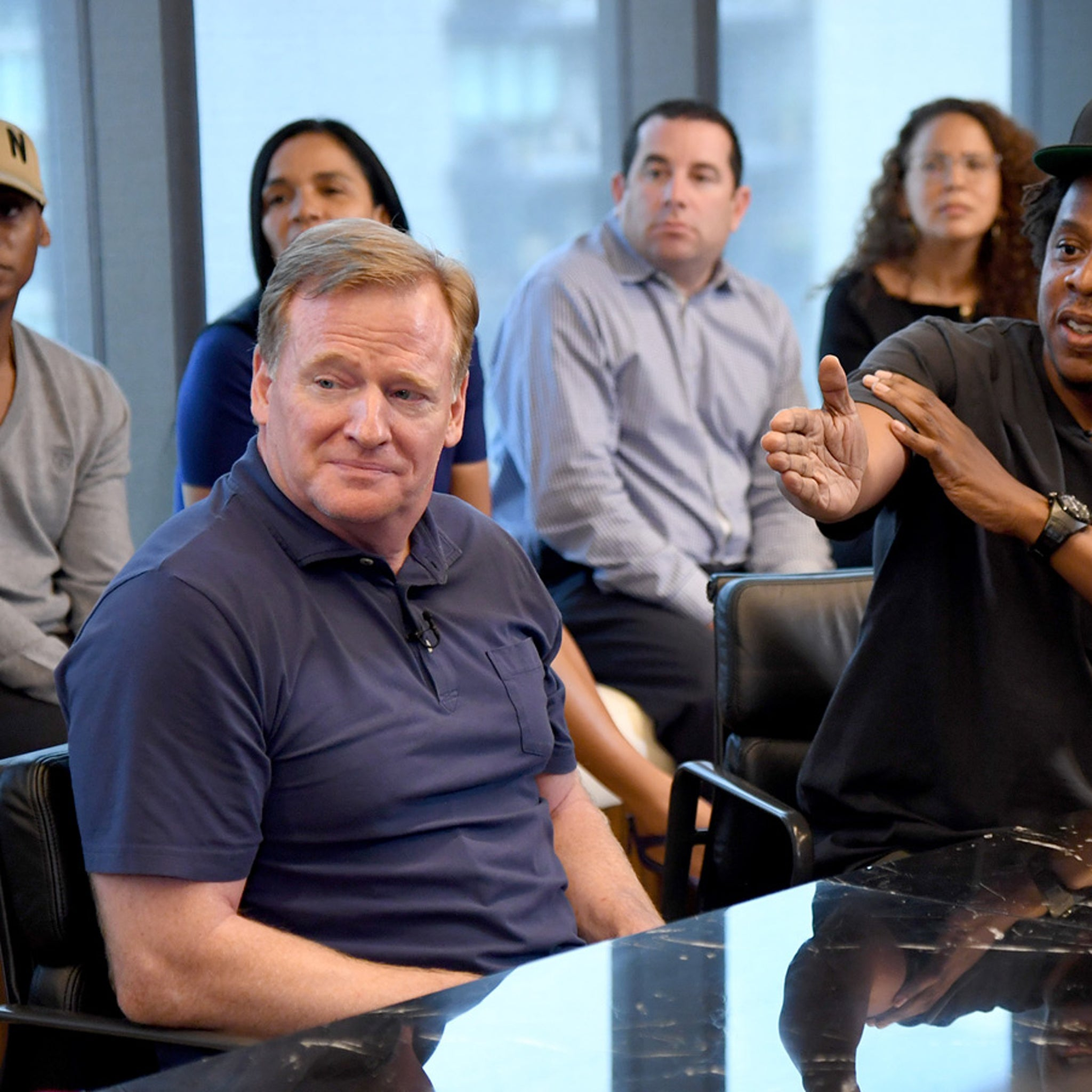 Jay-Z Spoke to Kaepernick This Week About New NFL Partnership