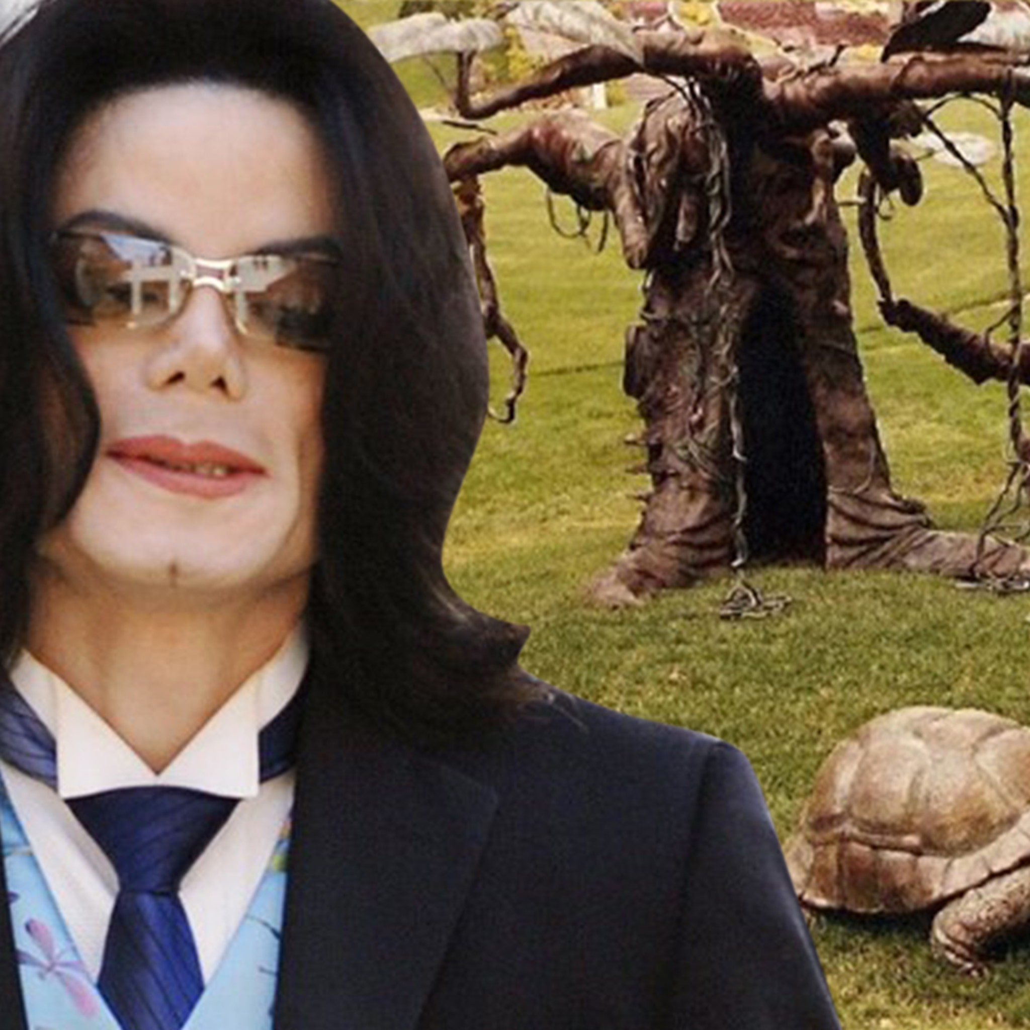 Michael Jackson's Neverland Ranch Jungle Gym Sculptures For Sale