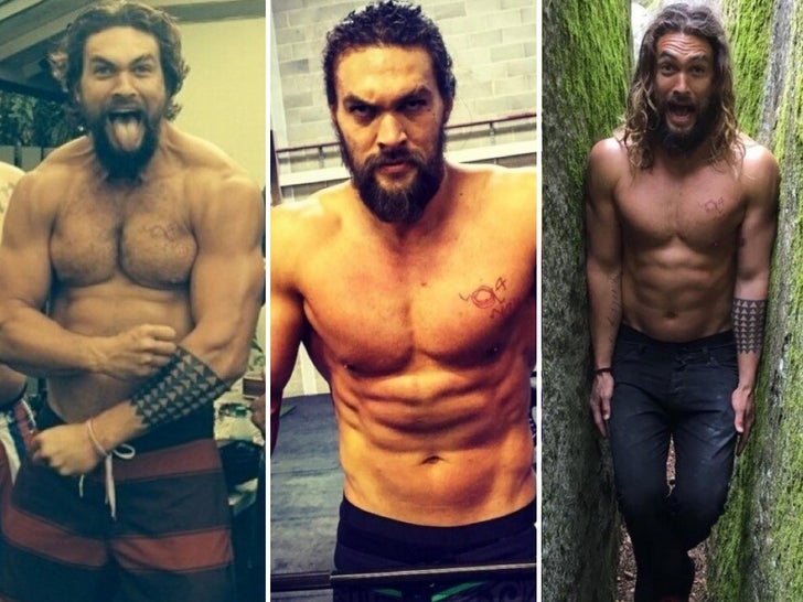 Jason Momoa's Hot Shots