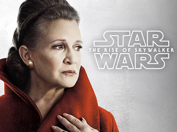 Carrie Fisher S Family Would Ve Approved Full Cgi Leia In Skywalker
