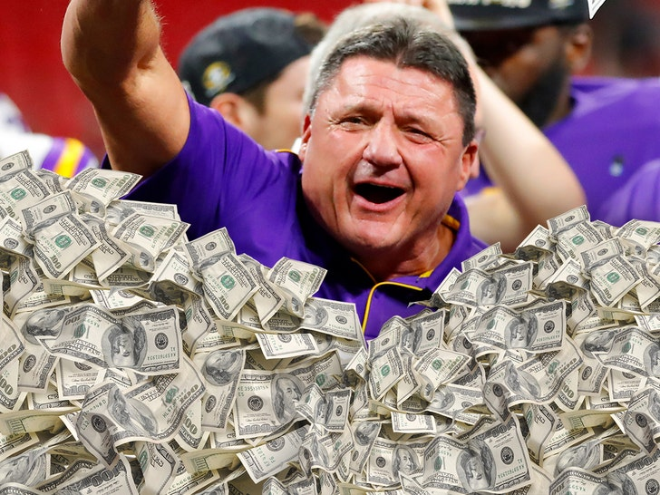 Ed Orgeron, LSU reach six-year extension worth more than $42 million