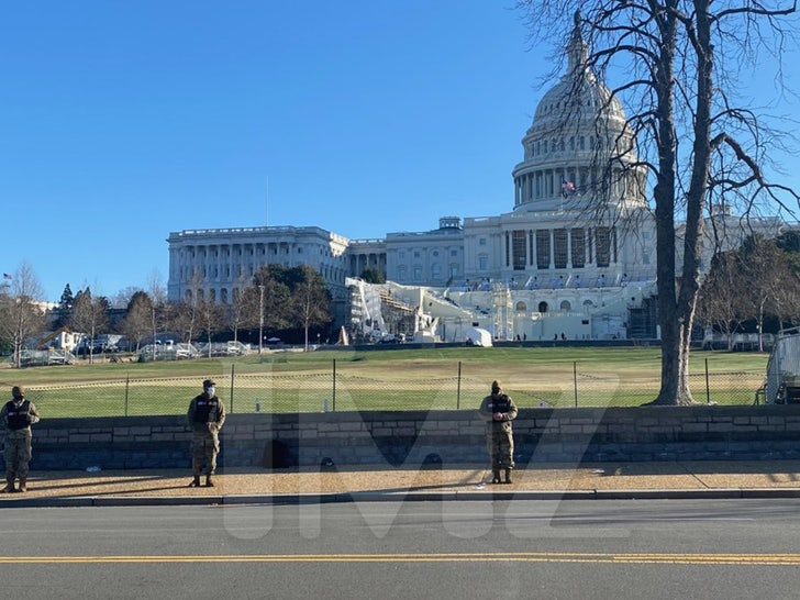 Inauguration Stage Damaged After Capitol Riot