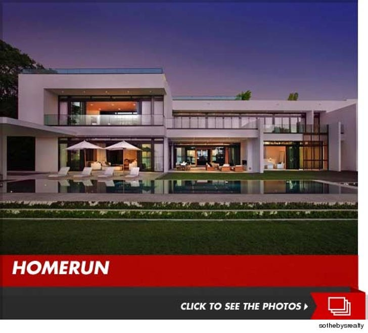A-Rod's Miami Mansion -- $old!