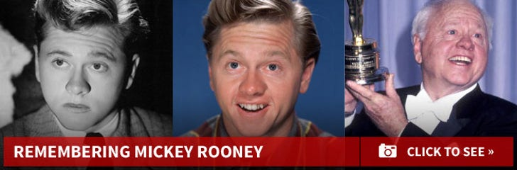 Remembering Mickey Rooney