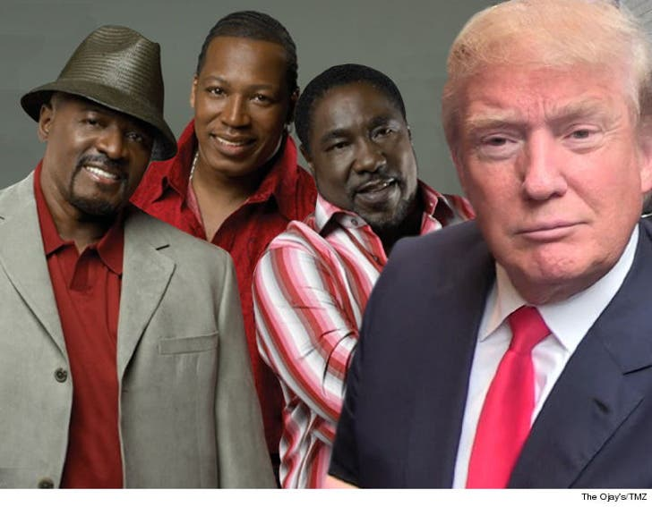 Donald Trump: 'Apprentice' Theme Now Off Limits, O'Jays Fire Off Warning