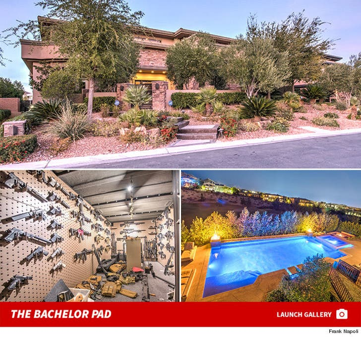 Dan Bilzerian's Vegas Bachelor Pad Up For Sale