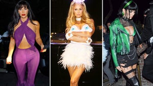 Kim Kardashian, Paris Hilton Dominate West Coast Halloween Party