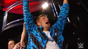 Rob Gronkowski Wins WWE Belt at WrestleMania, Pins BFF Mojo Rawley