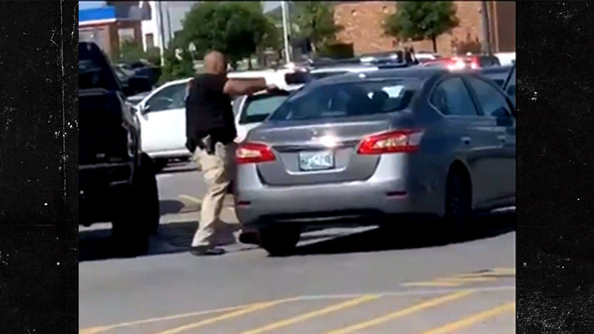Walmart Cops Shoots at Customer ... Allegedly Stole a BBQ