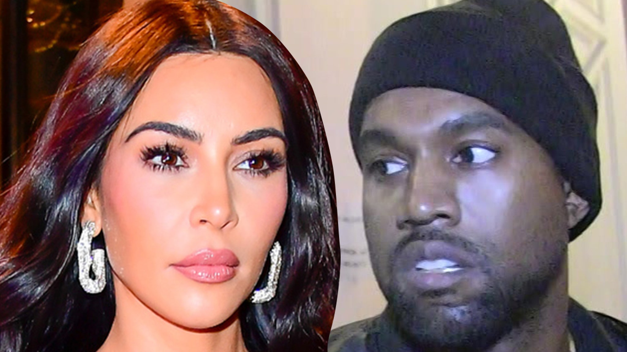 Kim and Kanye Politics Is Off-Limits On Getaway ... Bigger Fish To Fry