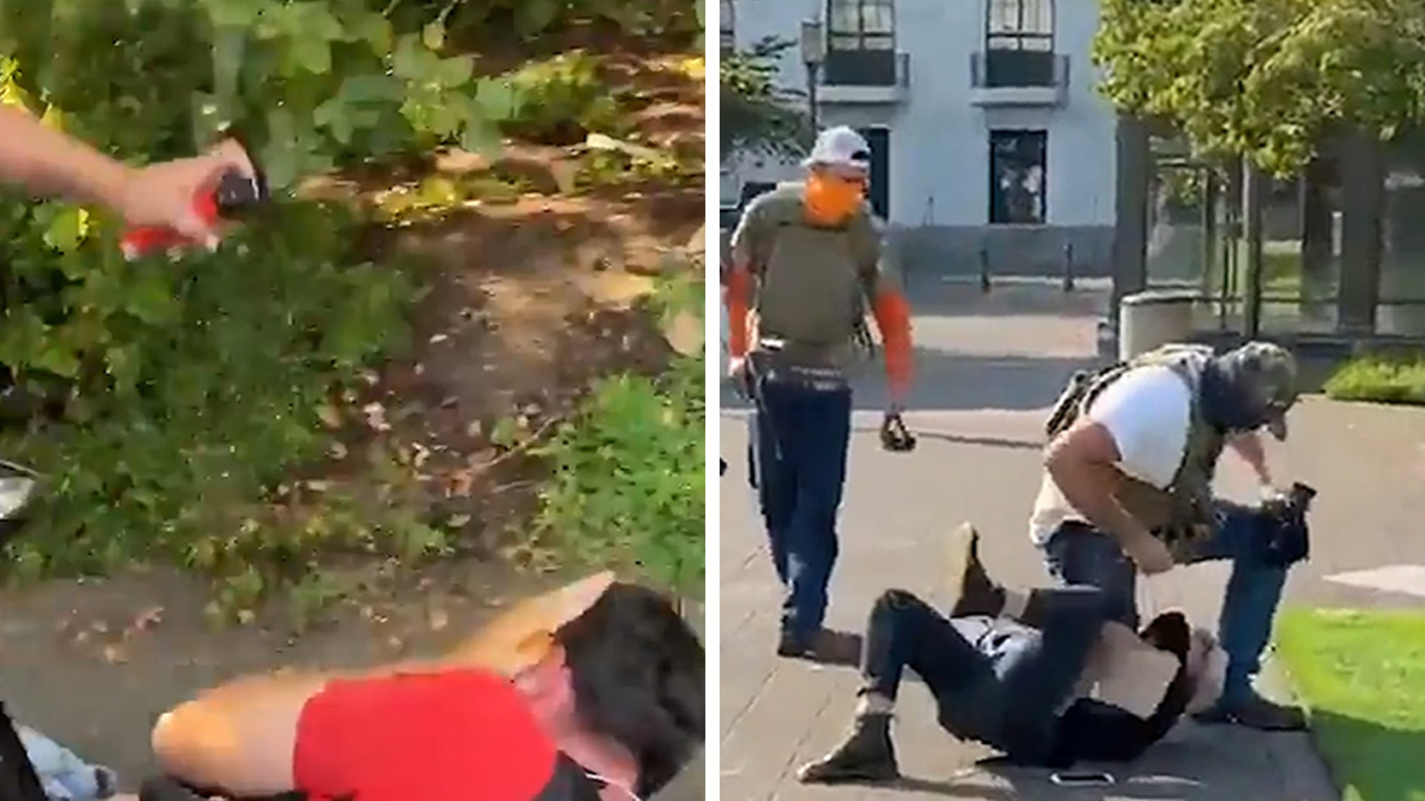 Trump Supporters in Oregon Chase Down, Beat BLM Protesters thumbnail