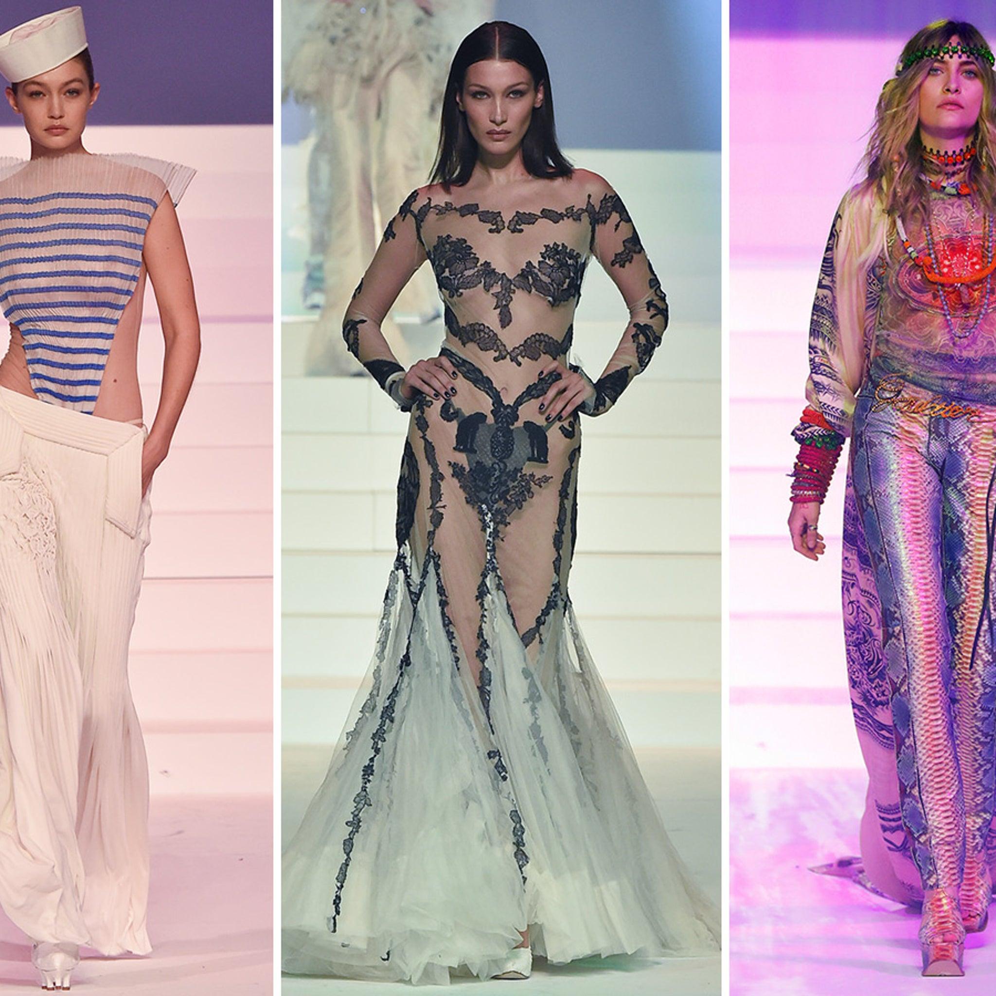 Gigi, Bella Hadid, Paris Jackson Walk Jean-Paul Gaultier's Final Runway Show