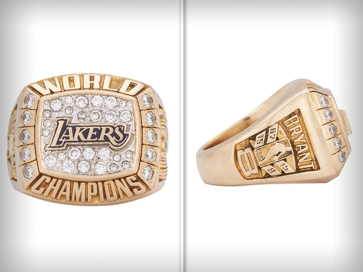 Kobe Bryant's Mother's Lakers Ring Auctions For Massive Price