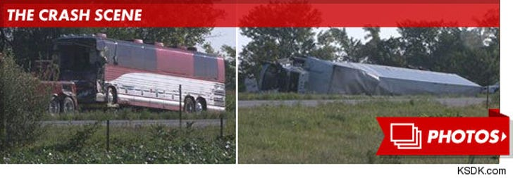 Miranda Cosgrove's Tour Bus Crash