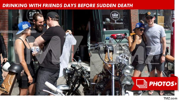 Cory Monteith -- Drinking With Friends Days Before Sudden Death