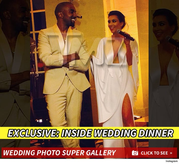 Kim Kardashian & Kanye West -- TMZ WEDDING CRASH