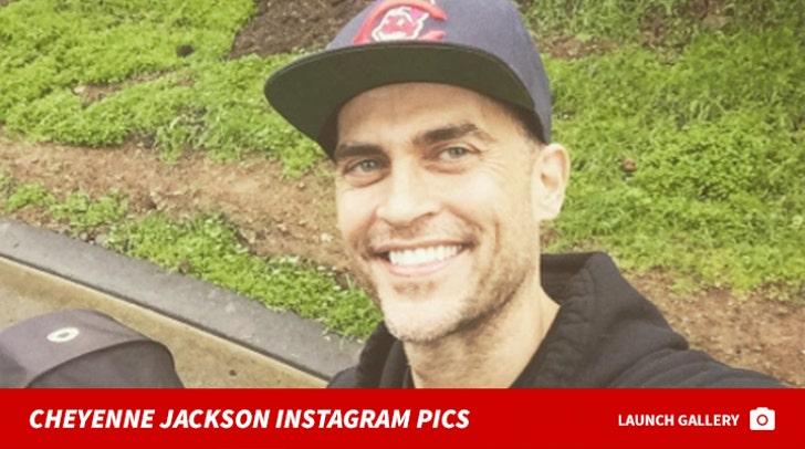 Cheyenne Jackson Instagram Pics