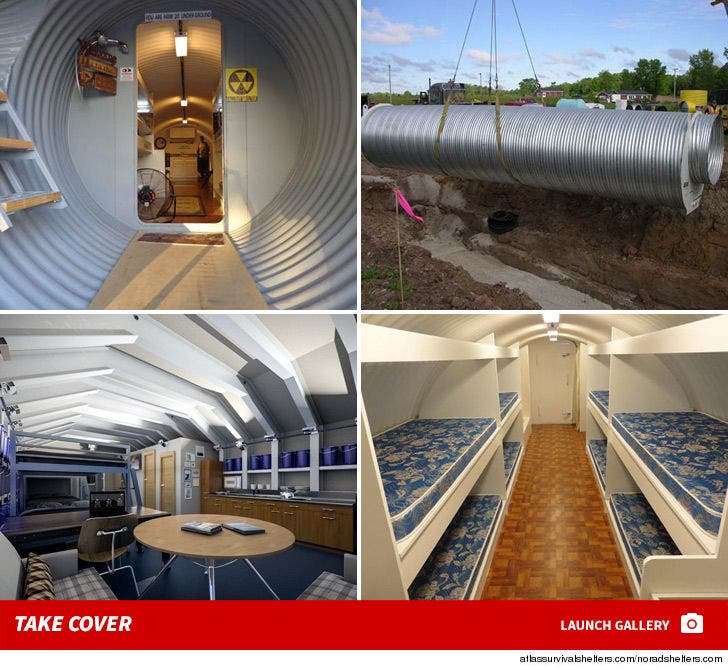 Bomb Shelters -- Take Cover!