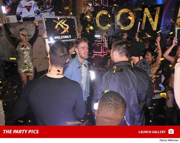 Connor McDavid's Birthday Party at XS Nightclub