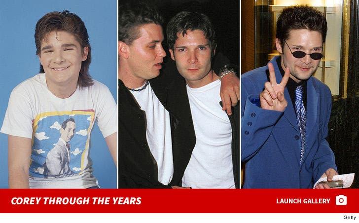 Corey Feldman Through the Years