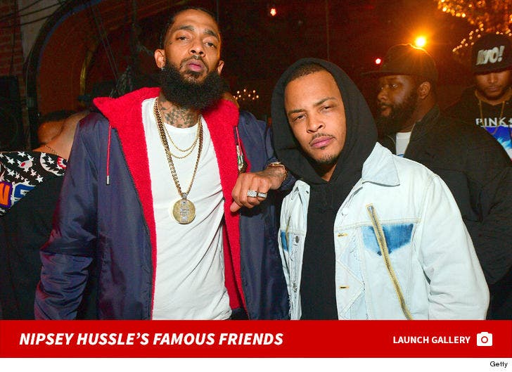 Nipsey Hussle's Famous Friends