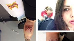Steven Tyler's Daughter -- Gets Ultimate Warrior Tattoo ... 'RIP Big Man'
