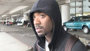 Ray J -- Charged with 4 CRIMES ... D.A. Files Sexual Battery, Cops Disagree