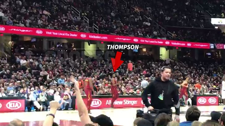 Tristan Thompson Only Lightly Booed at Cavs Game in Wake of