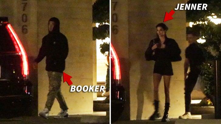 Kendall Jenner Malibu'd Up with Devin Booker, Nobu Date ...