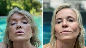 Martha Stewart Claps Back at Chelsea Handler Over Pool Selfie