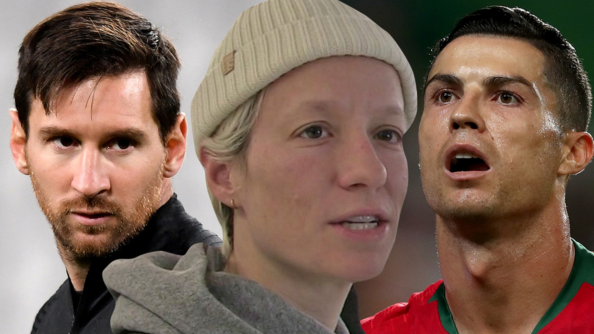 Megan Rapinoe Shades Cristiano Ronaldo & Lionel Messi, Do More To Fight Racism!