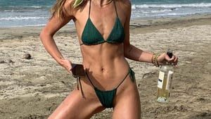 Hollywood Hits The Beach -- Salty Distancing
