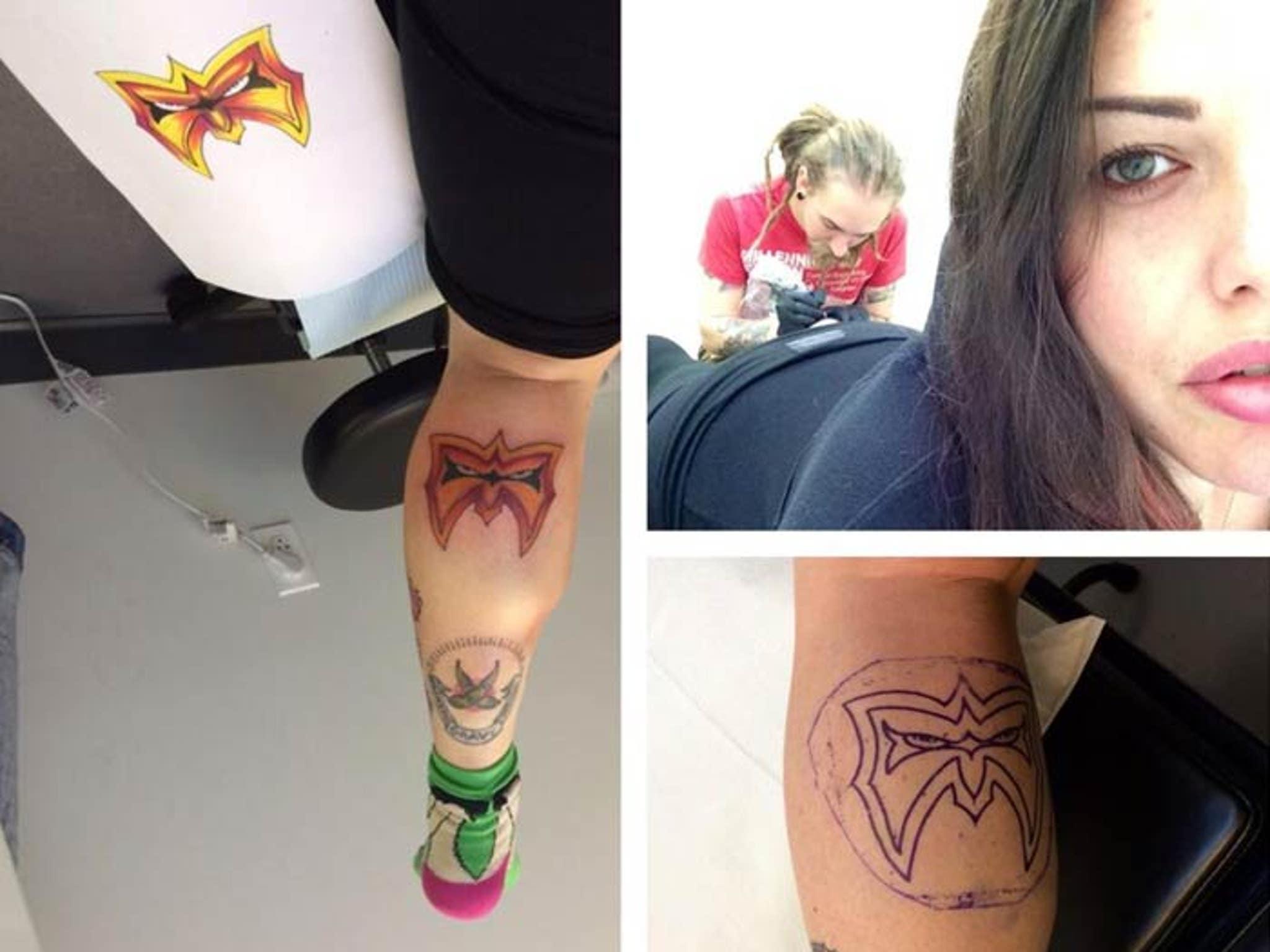 Steven Tyler S Daughter Gets Ultimate Warrior Tattoo Rip Big Man
