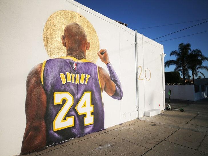 Kobe Murals in LA