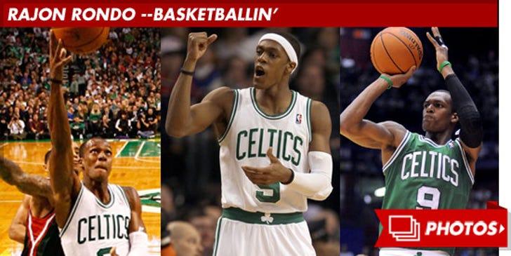 Rajon Rondo -- Basketballin'