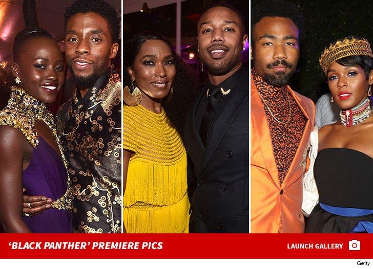 'Black Panther' Movie Premiere in Los Angeles